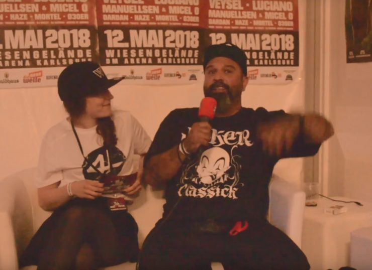 hombre interview hook up festival ka rap tv